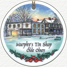 Murphy's Tin Shop - 2005 Olney Ornament