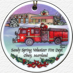 SSVFD - 2006 Olney Ornament