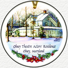 Olney Theatre Actors´s Residence - 2007 Olney Ornament